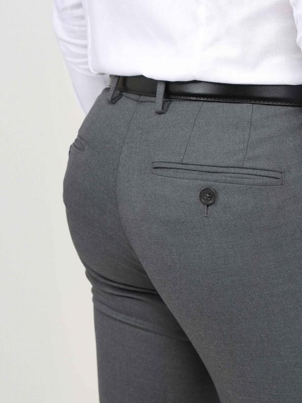 Pantalones clásicos tejido vegan