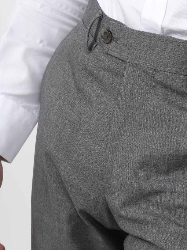 Pantalones clásicos regular fit