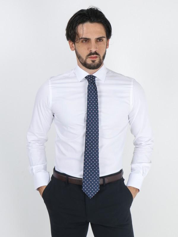 Camisa clássica estruturada slim fit