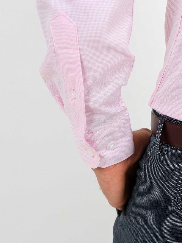 Structured slim fit elegant shirt