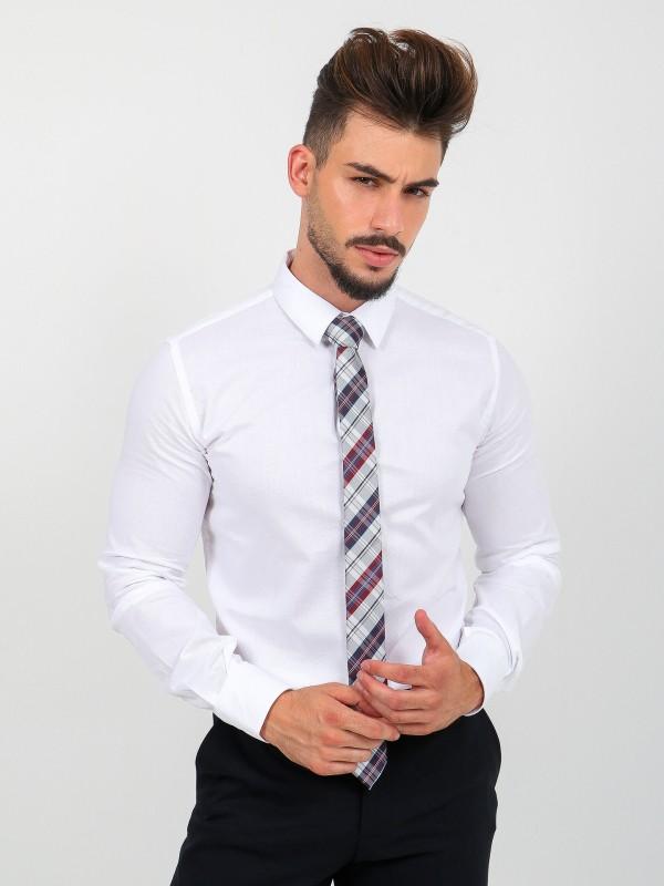 100% cotton slim fit classic shirt