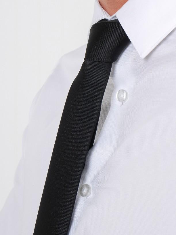 Camisa clásica slim fit micro estructura