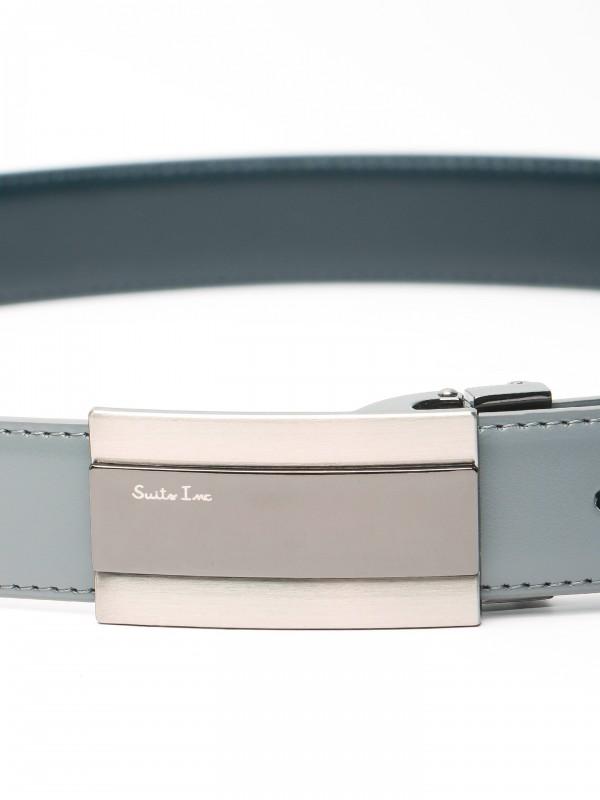 Elegant reversible leather belt