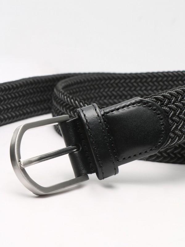 Casual braided detail belt