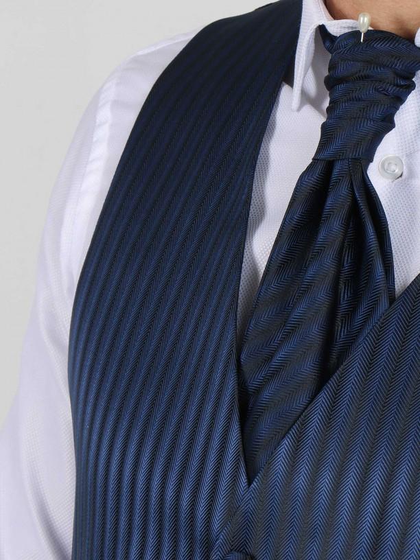 Colete de cerimónia com gravata