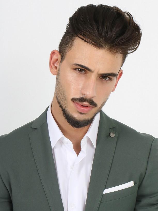 Slim fit plain suit