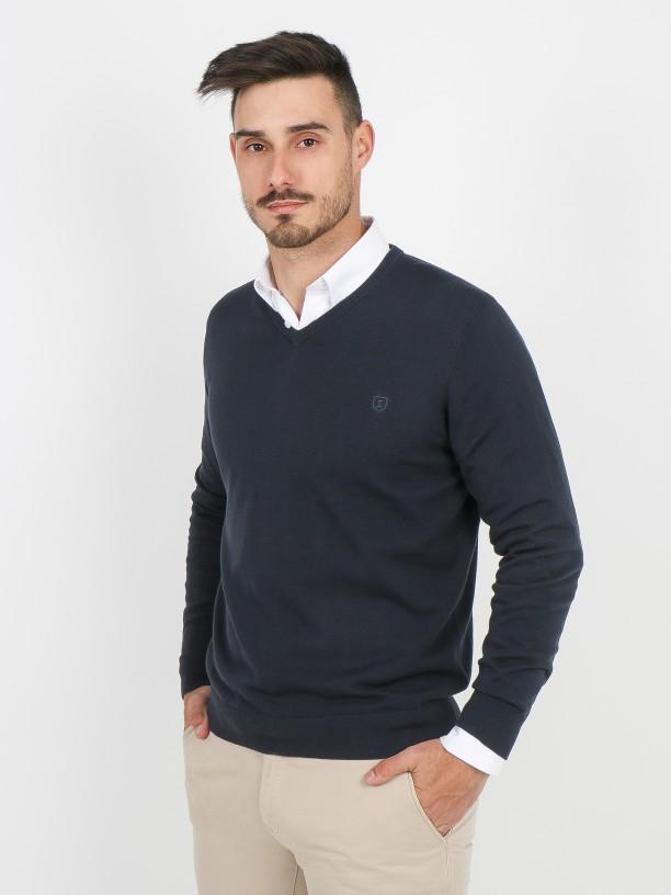 Camisola de malha 100% algodão