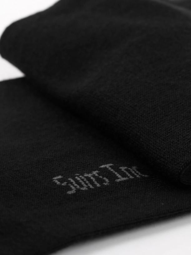 100% cotton slim socks