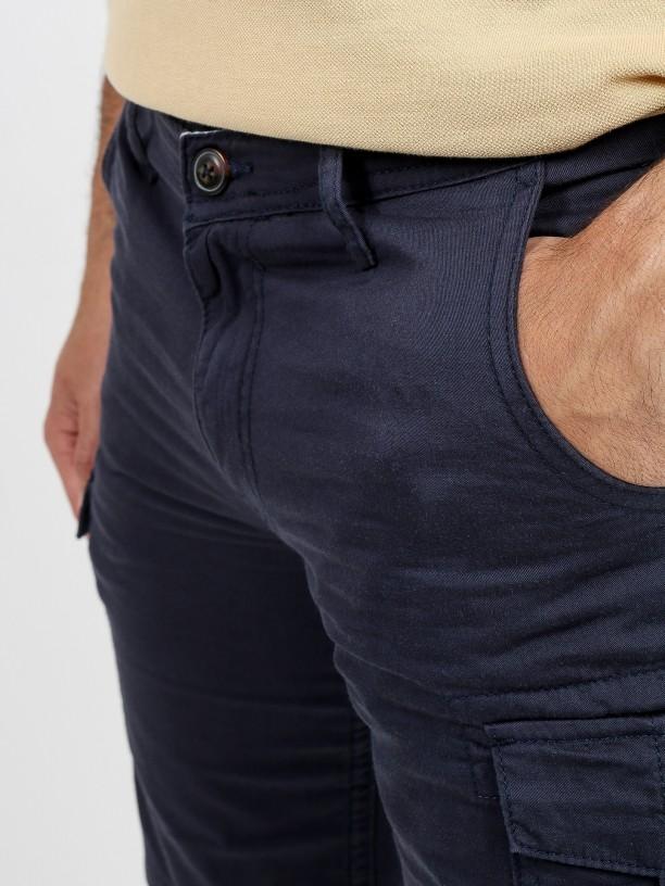 Cargo bermuda cotton shorts