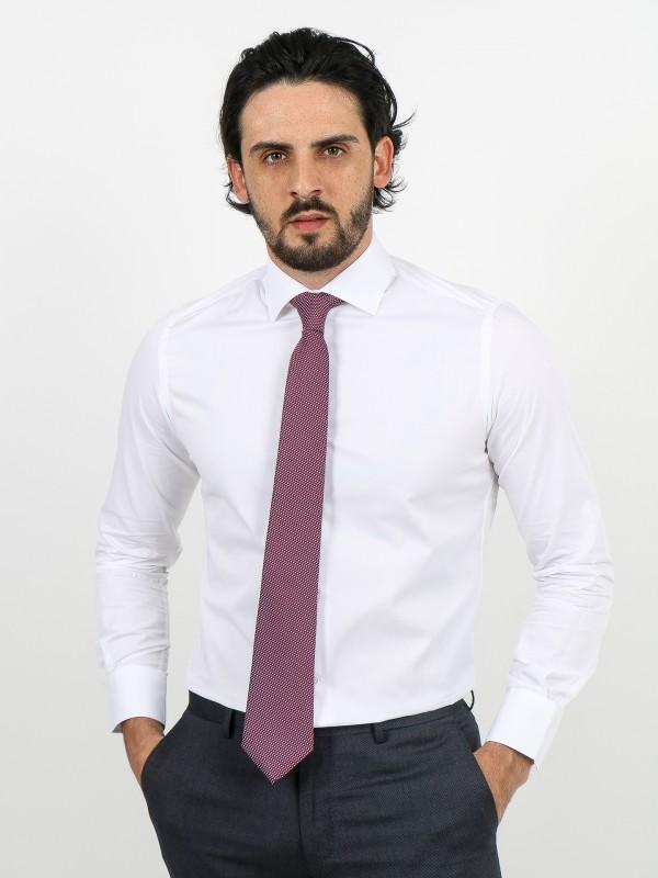 Regular fit plain classic shirt