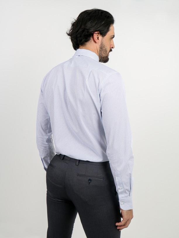 Camisa clásica regular con estampado