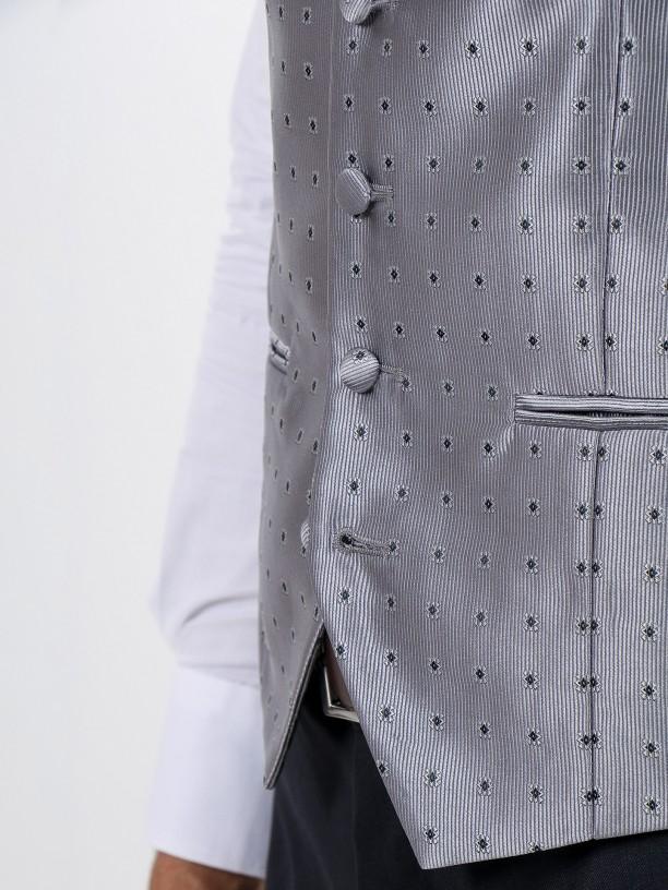 Ceremony waistcoat with tie