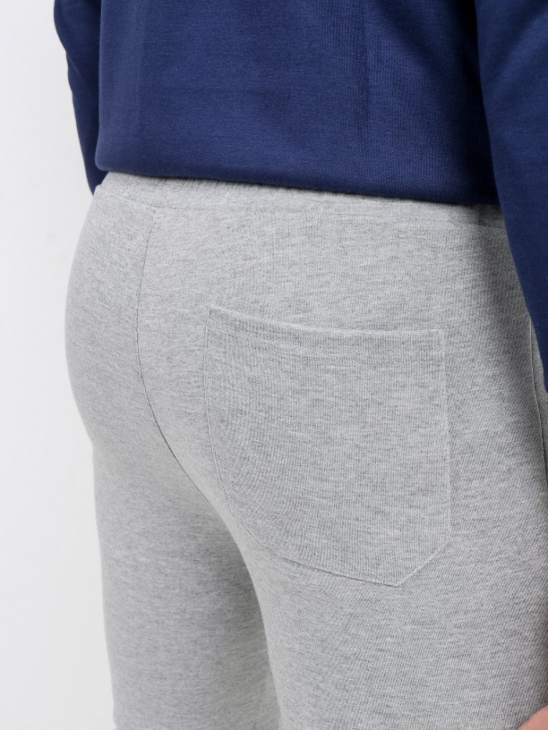 Pantalones chandál banda lateral