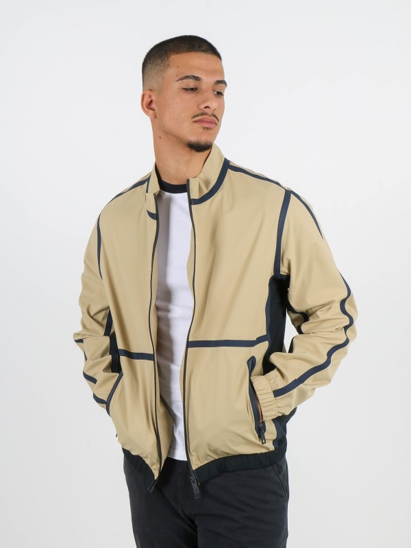 Retro-style ultralight jacket