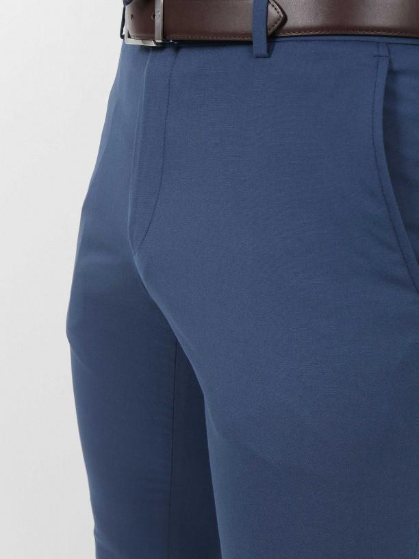 Vegan fabric elegant trousers