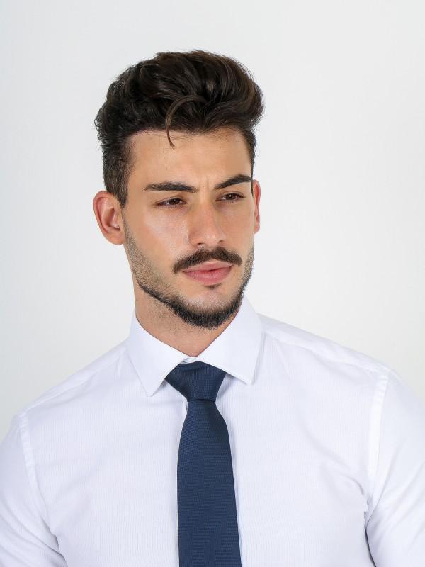 Camisa clássica regular fit com padrão