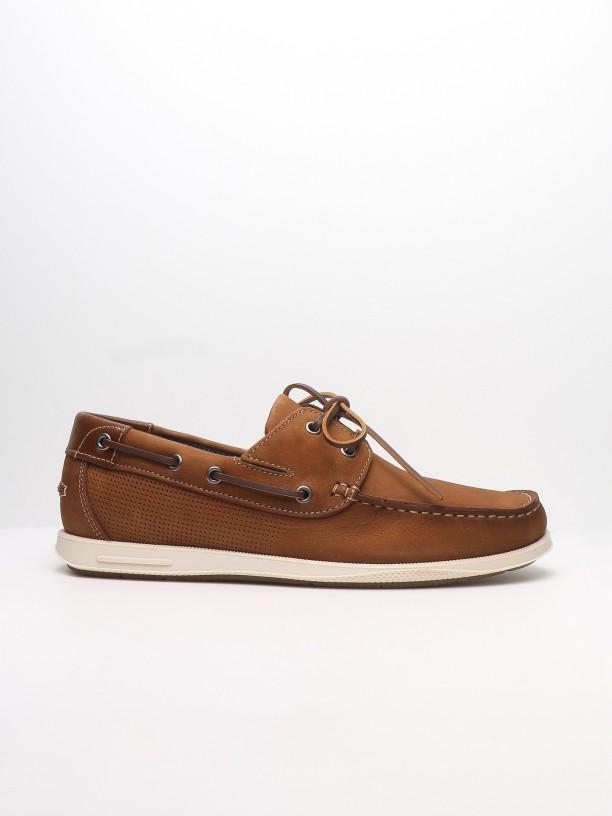 Leather kiowa loafers
