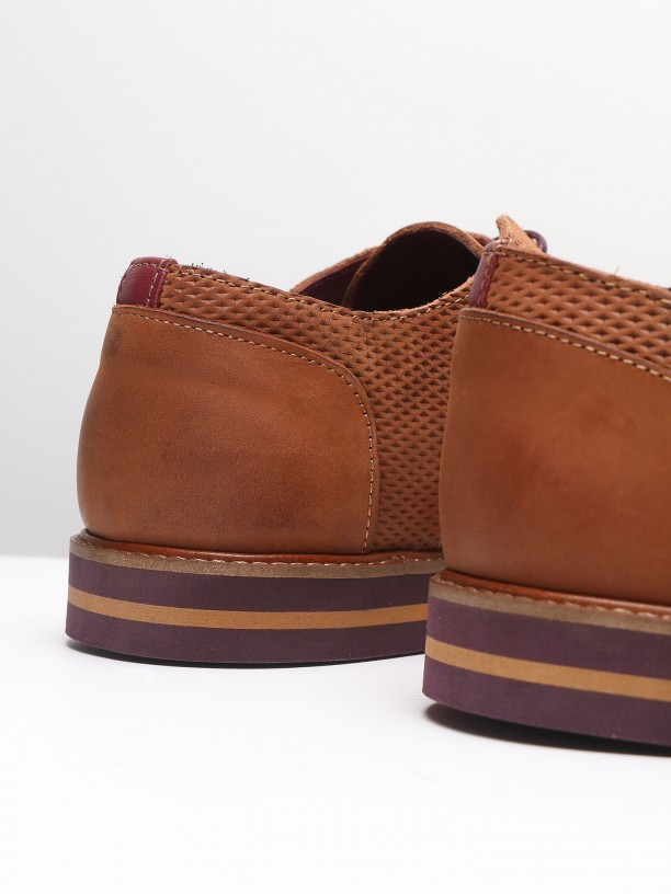 Suede leather casual shoes