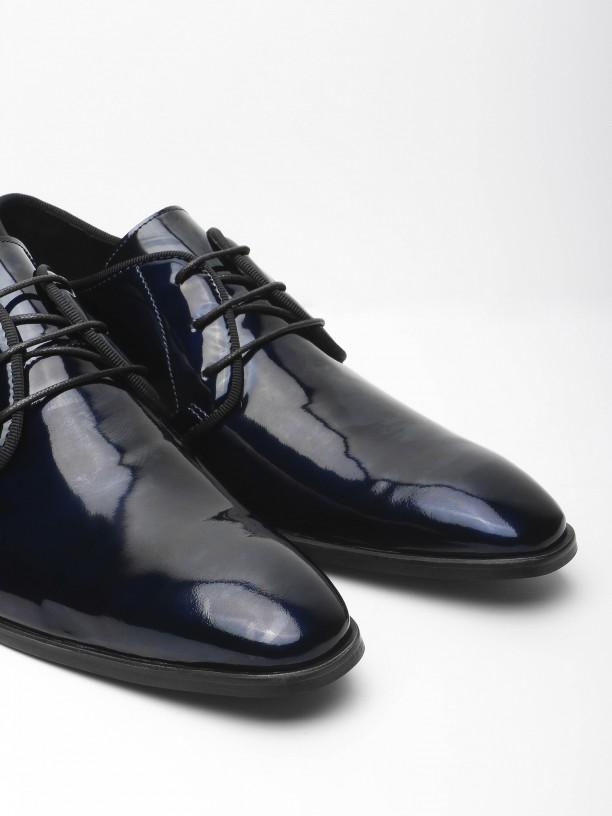 Zapato de vestir piel charol