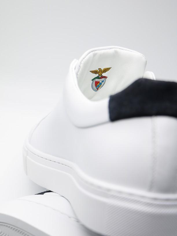 Sapatilha de pele polida edição SL Benfica