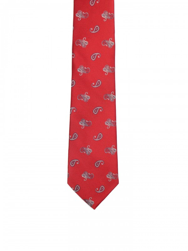 Classic tie with drops pattern