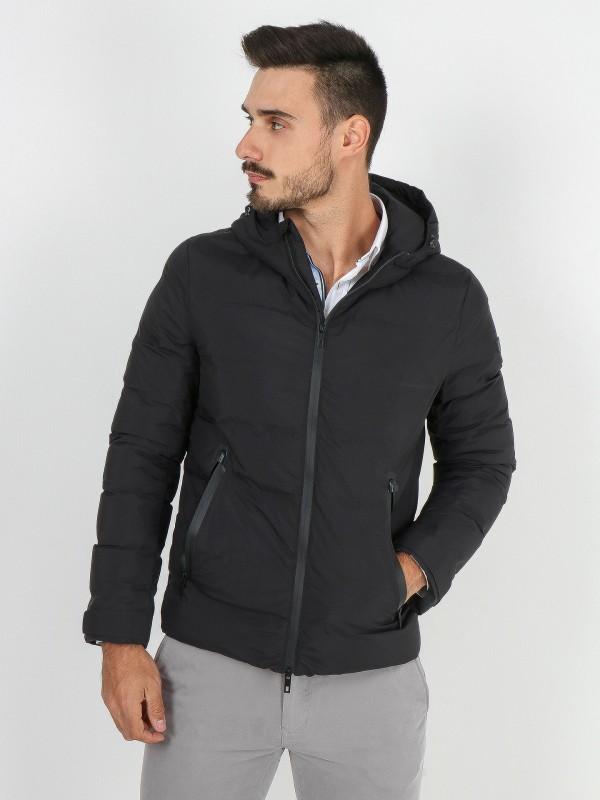 Smart jacket with hood