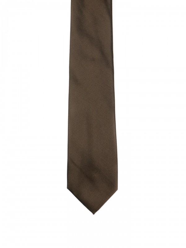 Corbata clásica con micro estampado