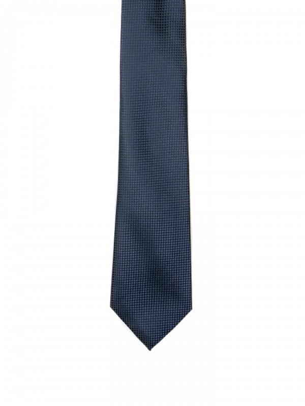 Corbata clásica con estampado estructurado
