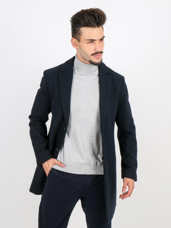 Classic wool overcoat